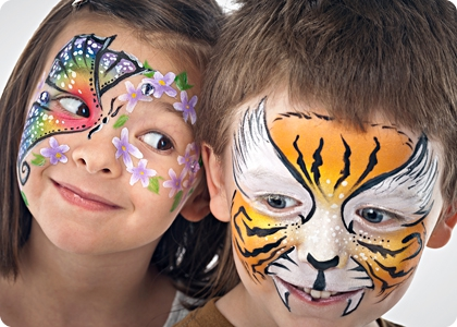 Rawr party houston area face painting and balloon art for Cheap face painting houston